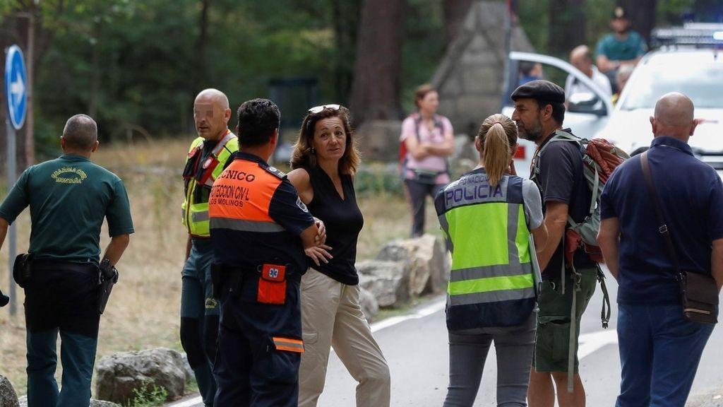 La búsqueda de Blanca Fernández Ochoa, en imágenes