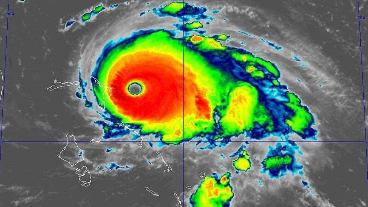 El huracán Dorian se convierte en huracán de categoría 5 antes de alcanzar las Bahamas