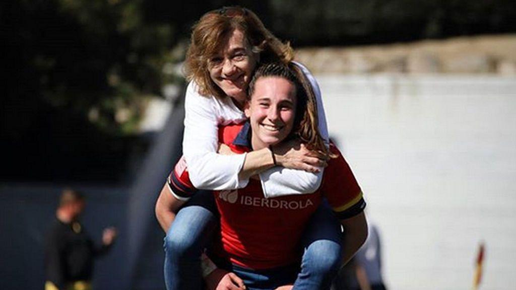Revuelo en la Red por un 'like' de Blanca Fernández Ochoa a su hija días después de desaparecer