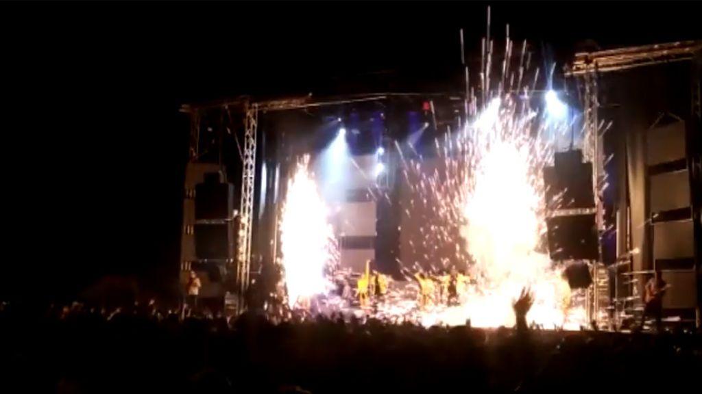 """Resultado de imagen de Detenidos dos técnicos por la muerte en directo de la bailarina de la Orquesta Super Hollywood en Ávila"""""""