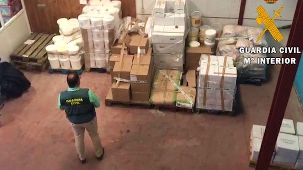 En plena polémica por el brote de listeria captan 22,5 toneladas de alimentos en Almería sin control