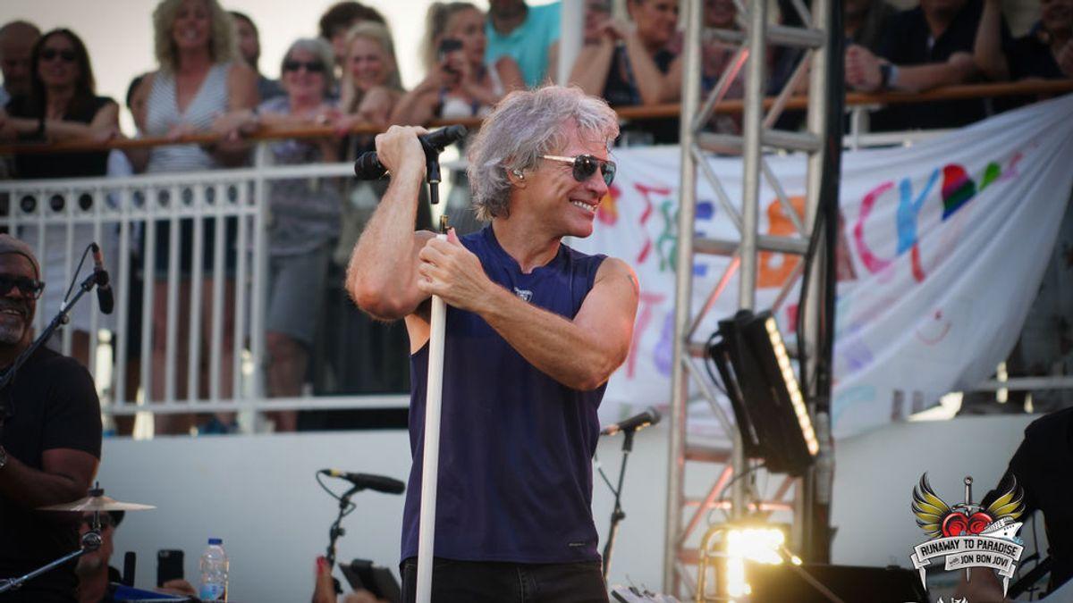 La escapada al paraíso español de Bon Jovi