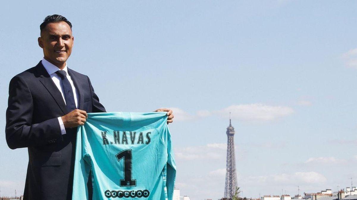 Keylor Navas ya es nuevo portero del PSG: El costarricense firma para cuatro temporadas y cobrará seis millones