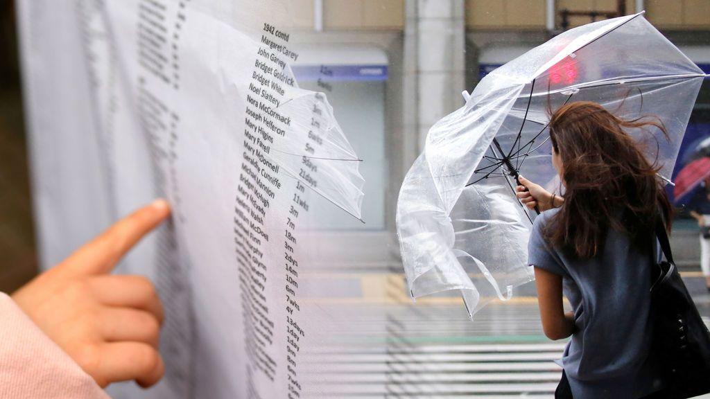 Daniel, Gloria, Inés: comprueba si tu nombre está en la lista de borrascas que llegarán a España