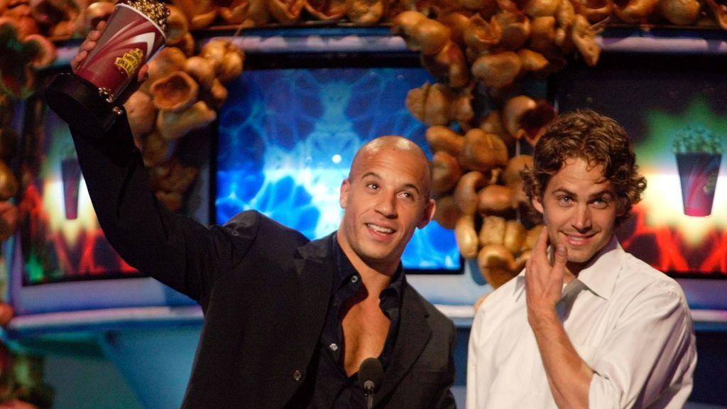 """""""Con mi ángel"""", la amistad de Paul Walker y Vin Diesel que ahora comparten sus hijas"""