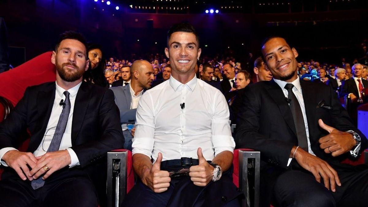 Vuelven Cristiano Ronaldo, Leo Messi y Van Dijk: ahora, a por el premio The Best