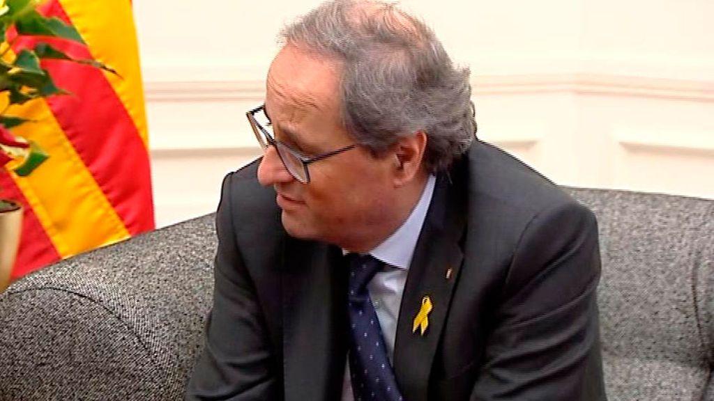 Torra será juzgado el 25 y el 26 de septiembre por no retirar los lazos amarillos