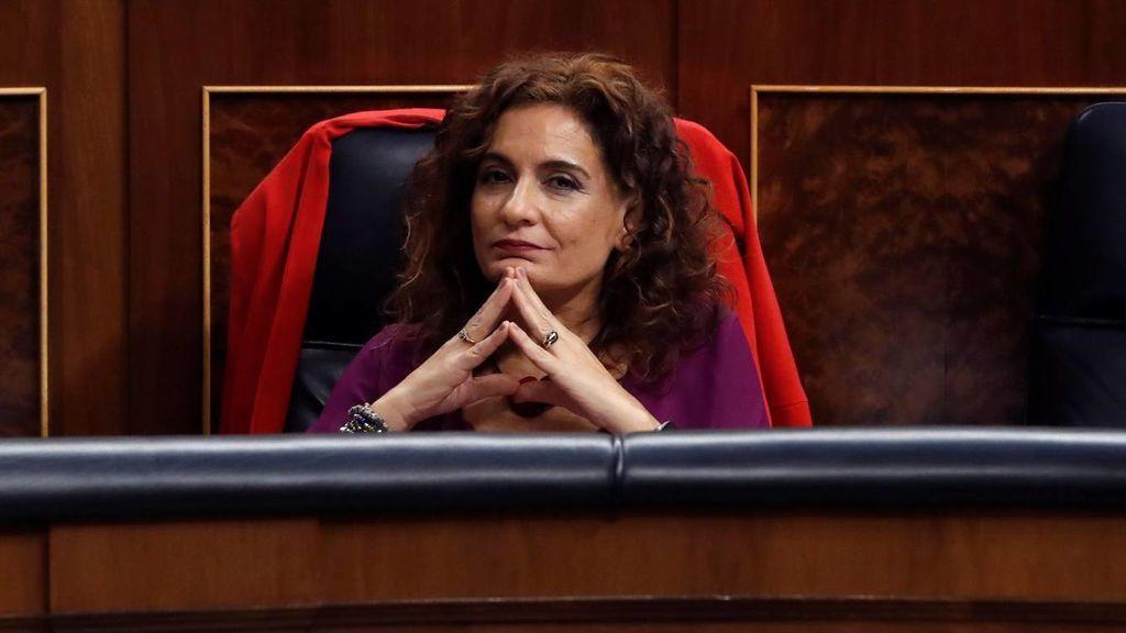 María Jesús Montero, ministra en funciones de Hacienda