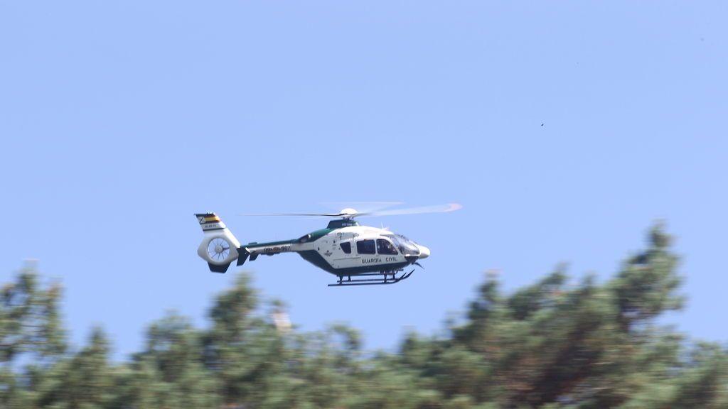 La Policía tiene listos varios drones para buscar a Blanca por la noche y en zonas escarpadas