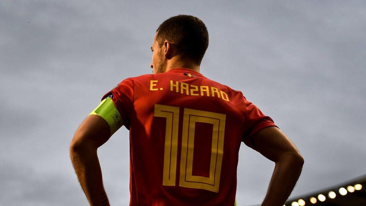 Hazard abandona la concentración con la selección de Bélgica: como avisó el Real Madrid, estaba lesionado