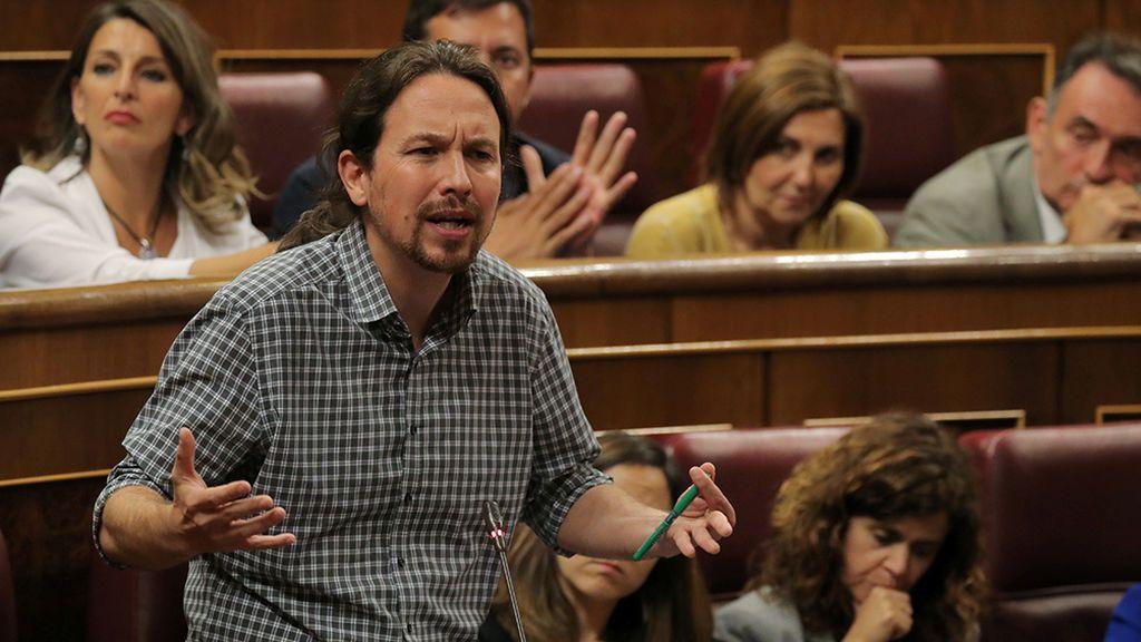 """Pablo Iglesias sobre las 370 medidas del PSOE: """"No voy a aceptar más humillaciones"""""""