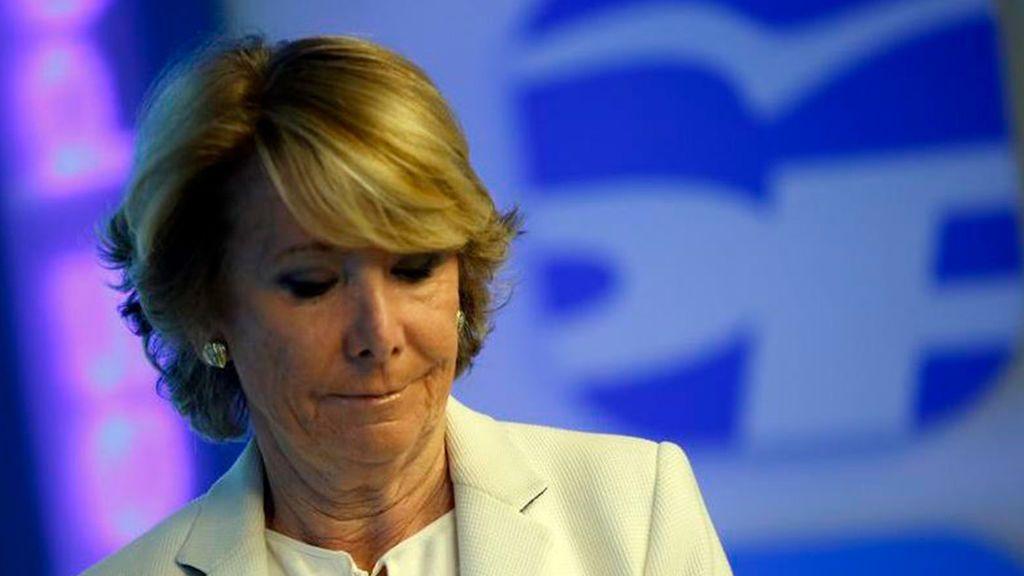 El PP dice ahora que Aguirre es inocente pero se pone de perfil