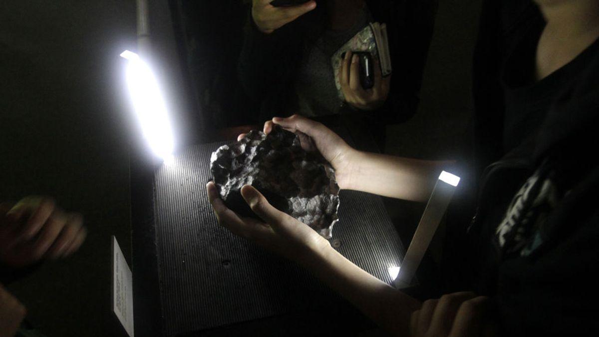 'Edscottita', el nuevo mineral que vino del espacio en el corazón de un meteorito