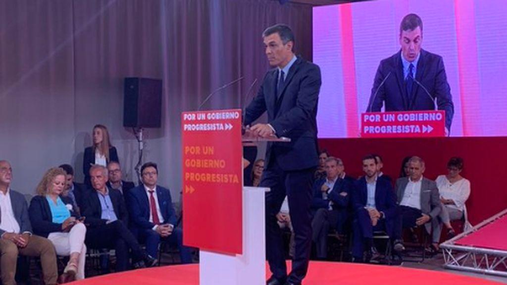 Las frases de Pedro Sánchez que nos acercan más a las elecciones: un mitin para culpar al resto del no gobierno