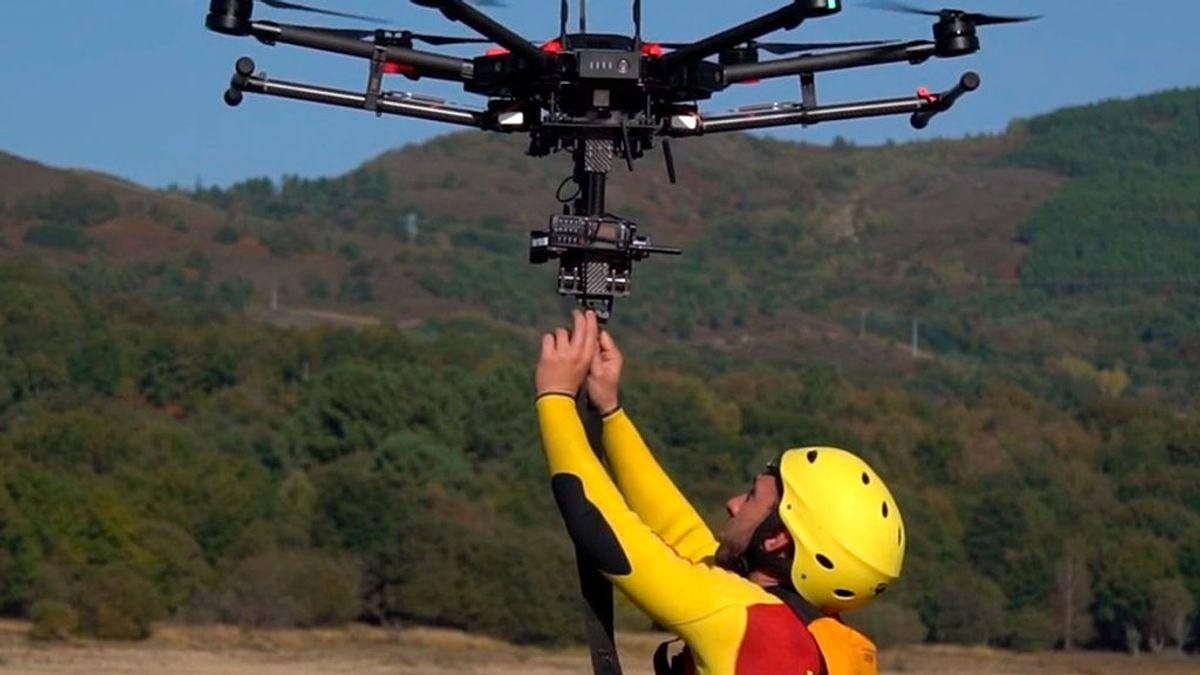 Los drones se suman a la búsqueda de Blanca Fernández Ochoa