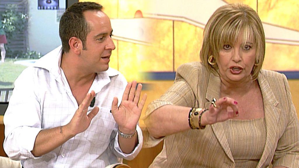 María Teresa Campos y Víctor Sandoval en 'Día a Día'