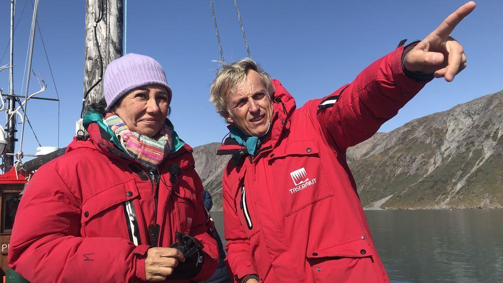 Ana Botín realiza una expedición por el sur de Groenlandia en una nueva aventura de 'Planeta Calleja'