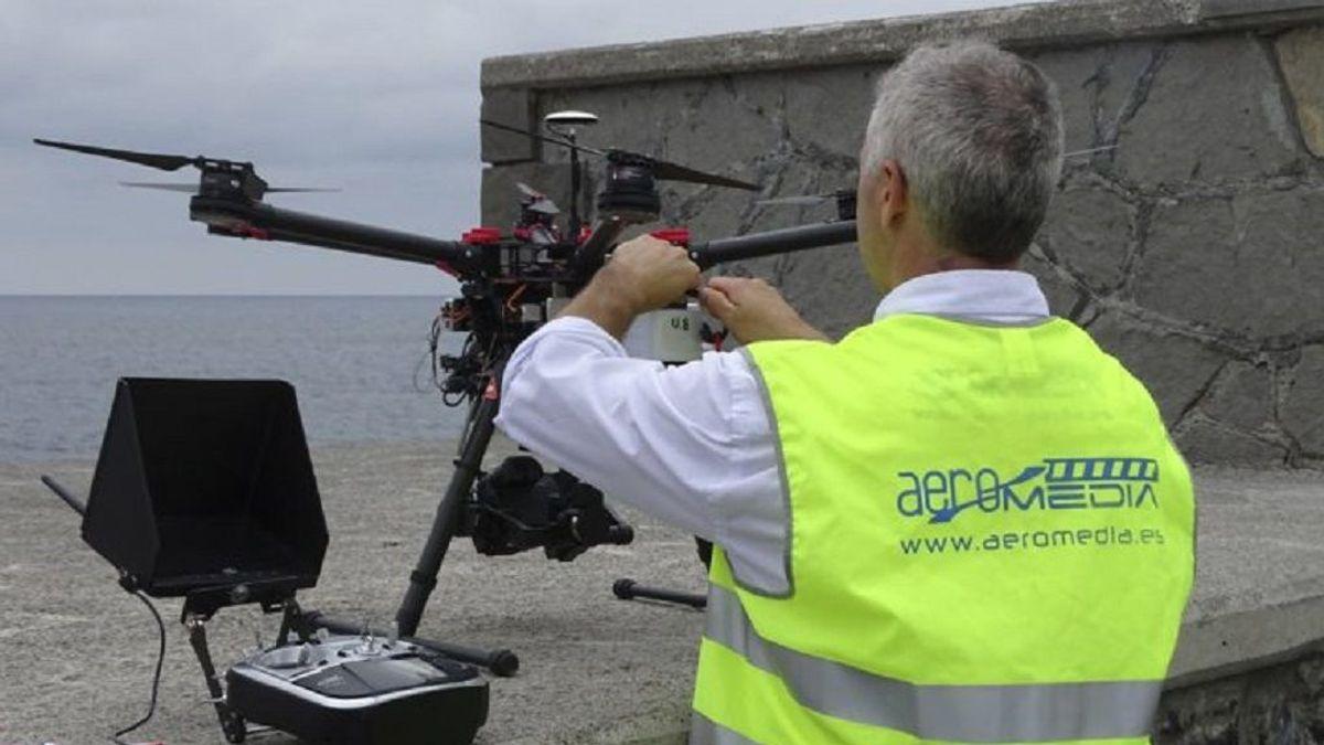 Cardioprotección con drones: una realidad en el Camino de Santiago para 2020