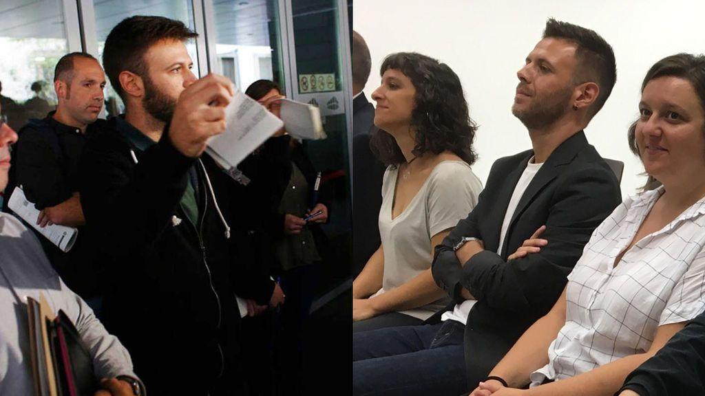 De romper un auto judicial a sentarse en el banquillo por desobediencia el 12-O en Badalona