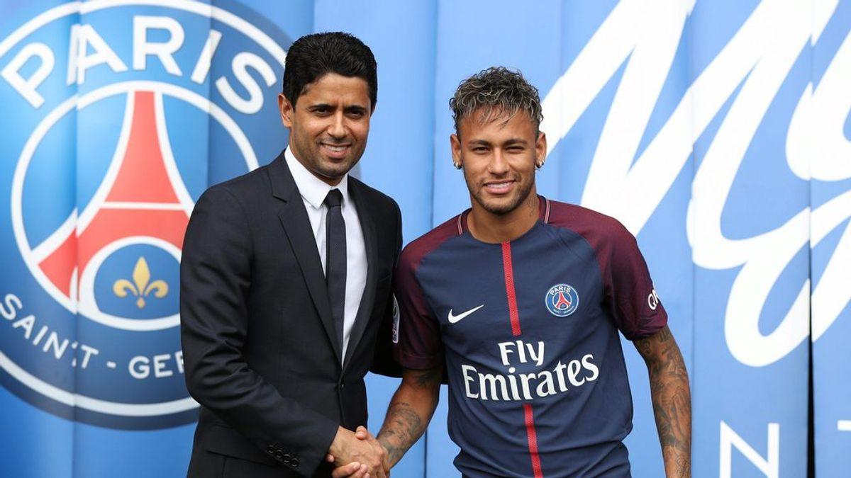 """El castigo del jeque del PSG a Neymar: """"Te pondría  a correr por el campo hasta que termine el contrato"""""""