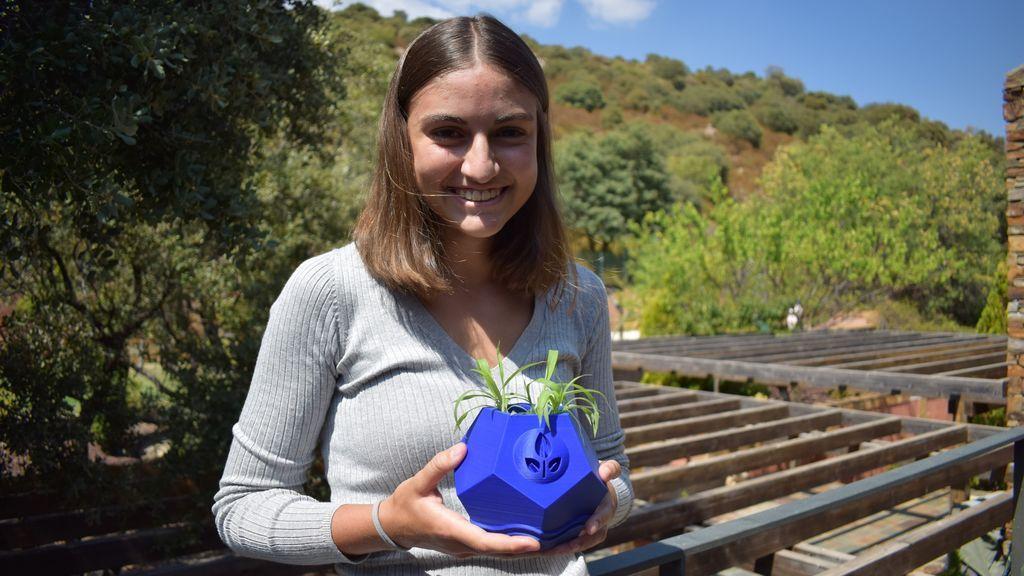 Una estudiante española, premiada por la ESA por un diseño de maceta lunar