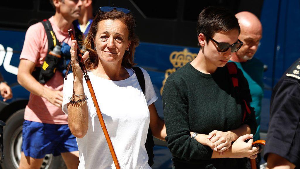 Tristeza de sus familiares por la muerte de Blanca Fernández Ochoa