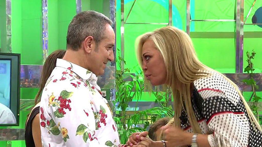 Belén Esteban, muy crítica con Víctor Sandoval