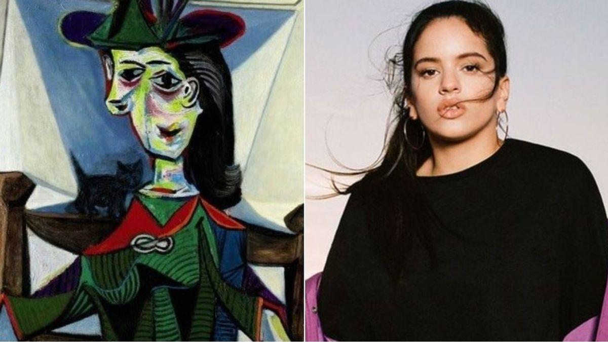 Transforman un Picasso en Rosalía: Los tuiteros se ponen creativos y cambian siglos de interpretaciones