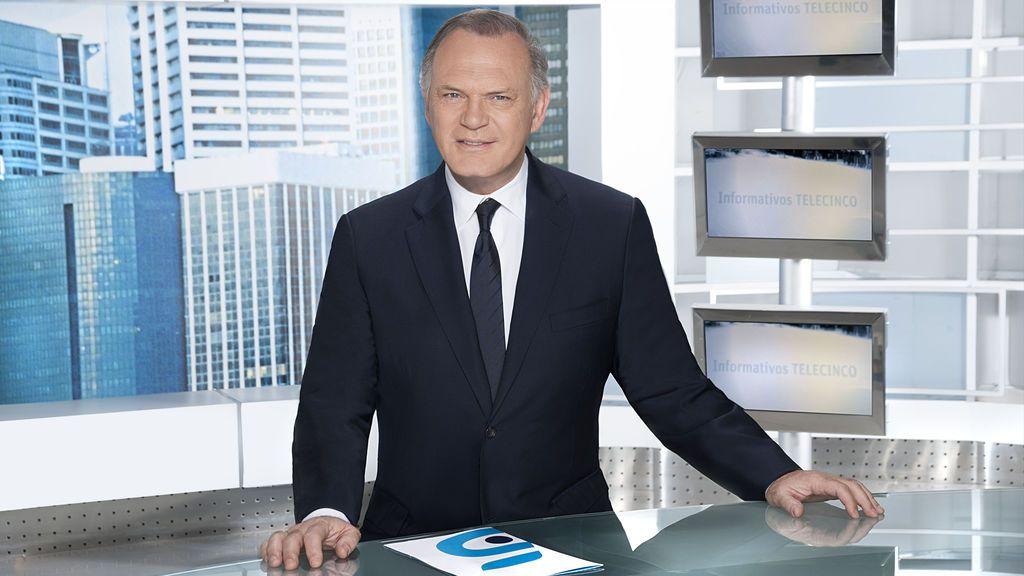 Telecinco, referente informativo con sus ediciones de noche y sobremesa como lo más visto del miércoles