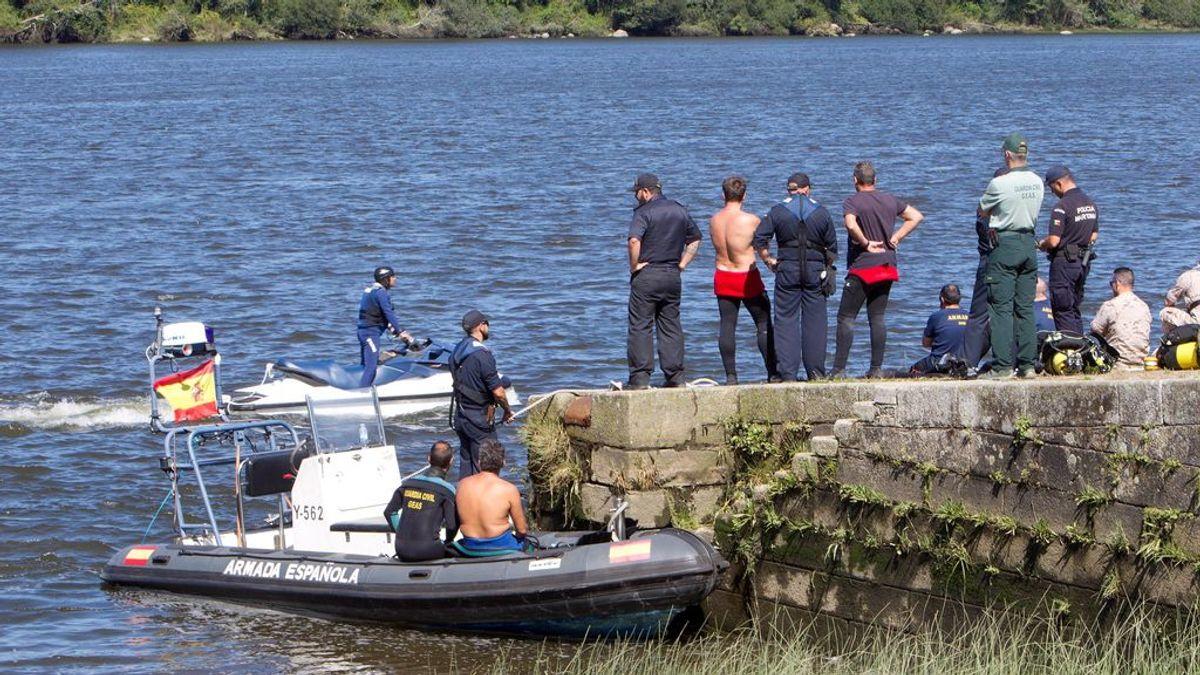 Encuentran el cuerpo del triatleta portugués desaparecido en el río Miño