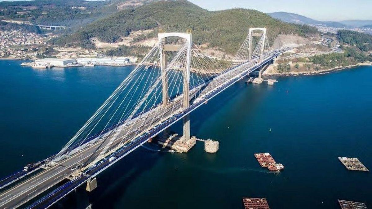 El puente de Rande es uno de los emblemas de la ría de Vigo
