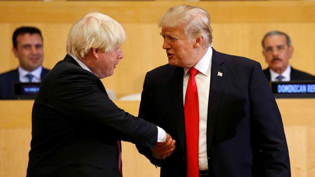 El presidente Trump mantiene su apoyo a Boris Johnson