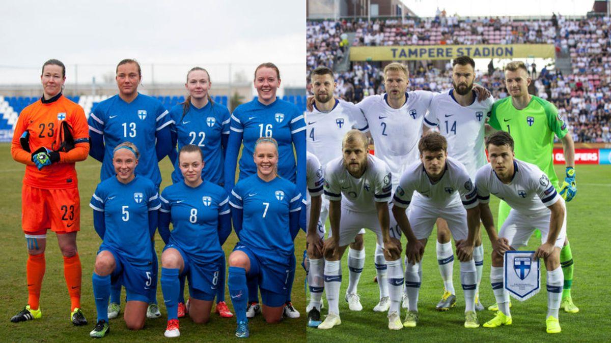 La Federación finlandesa anuncia que igualará los sueldos de los jugadores y jugadoras de la selección