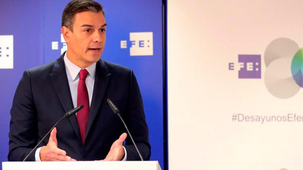 Sánchez apela a la negociación en las horas clave para salvar su investidura