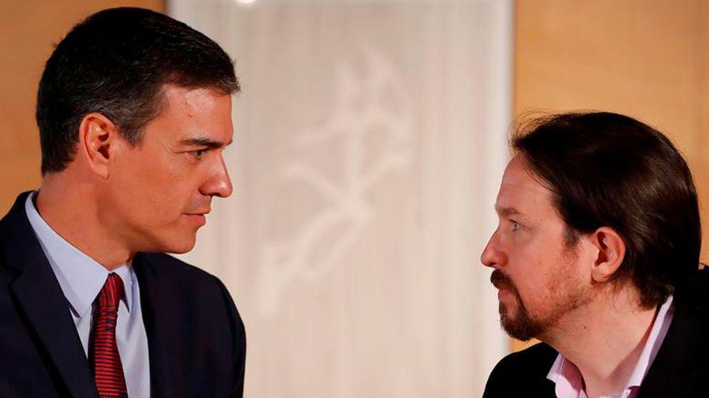 La falta de sintonía personal entre Sánchez e Iglesias complica el pacto de investidura