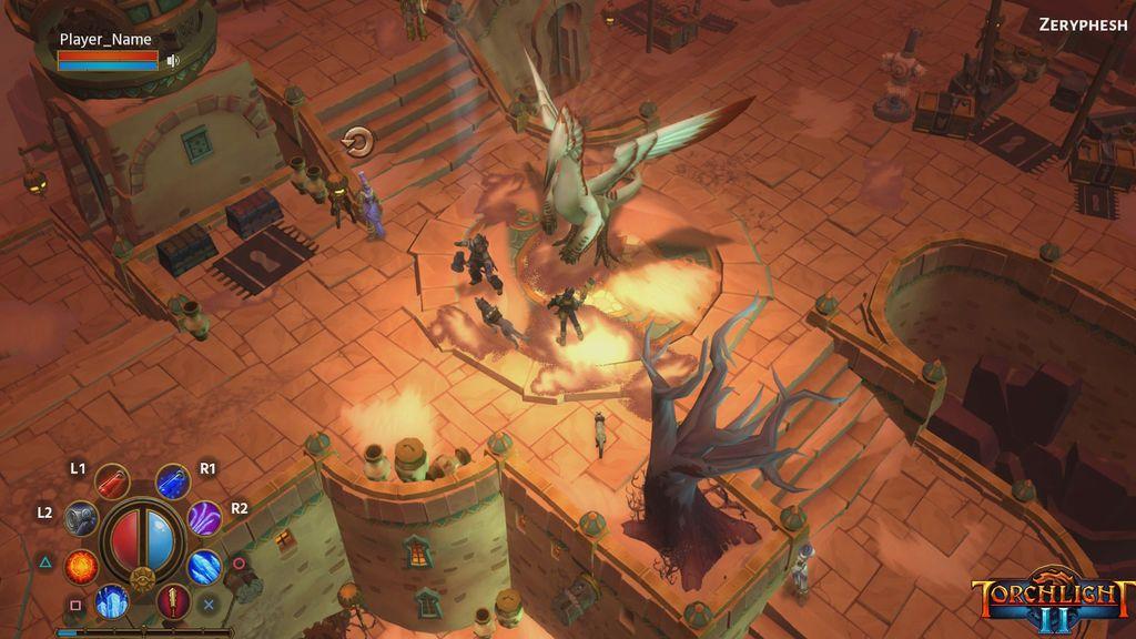 Torchlight en PS4