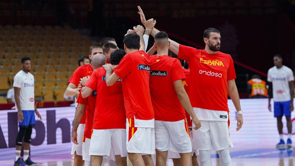 España - Serbia: la selección se juega el primer puesto del grupo el domingo 8 de septiembre en Cuatro y Mitele