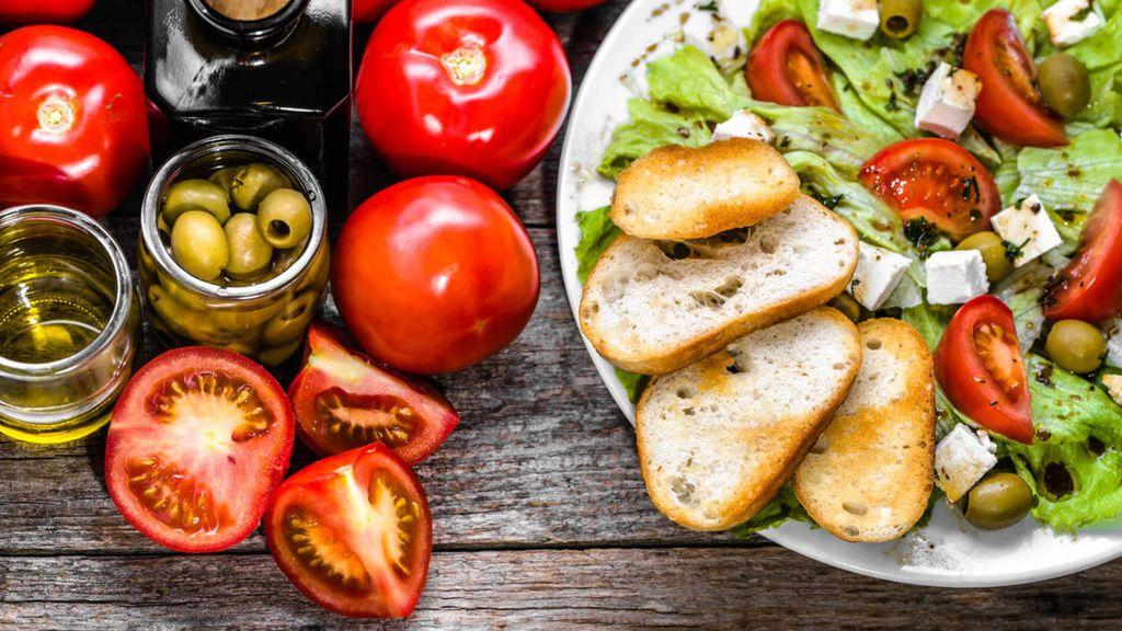 Imagen comida mediterránea