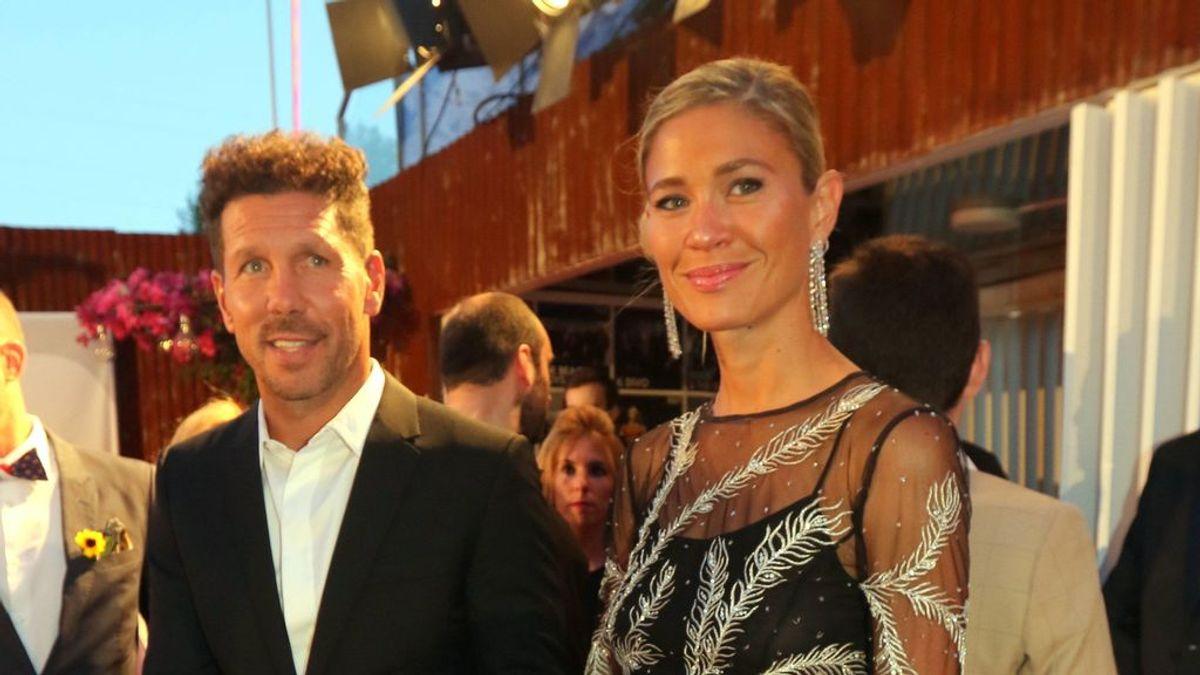 Simeone se casa por segunda vez en menos de tres meses con Carla Pereyra en la Toscana