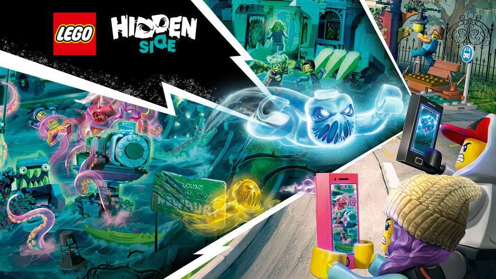 Cuéntanos la historia más terrorífica que hayas vivido con tu hijo/a y podrás ganar toda la escalofriante colección de LEGO® Hidden Side ™