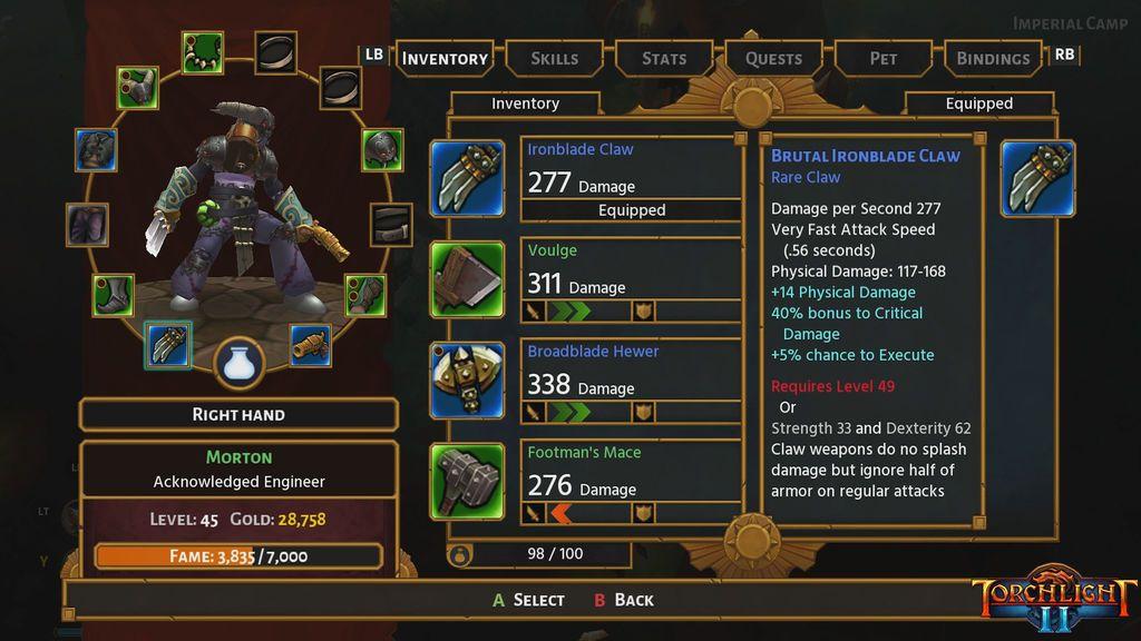 Torchlight II en Xbox One