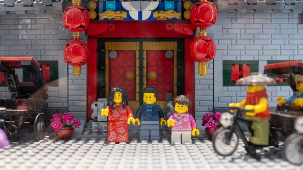 Así ha recreado Lego los paisajes típicos de China