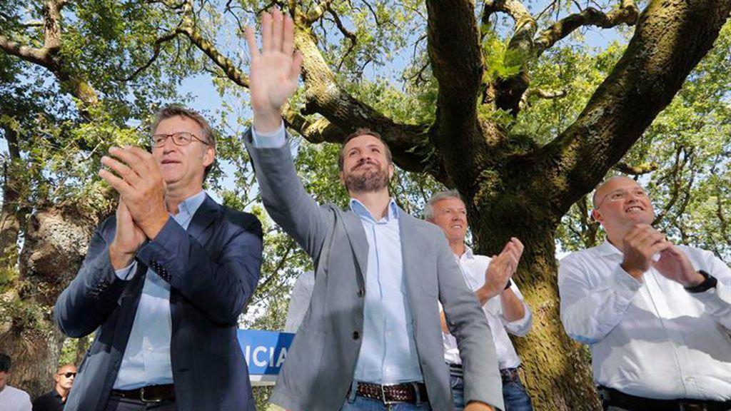 Casado acusa a Sánchez de querer ir a unas nuevas elecciones