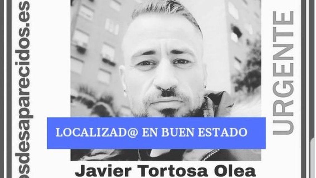 Localizan en buen estado a Javier Tortosa, de 37 años, desaparecido desde hace casi dos meses en Alcalá