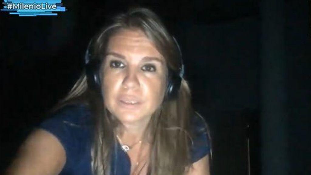 """La imagen de Carmen Porter que inquieta a sus fans: """"Hay una mujer con mantilla negra detrás"""""""
