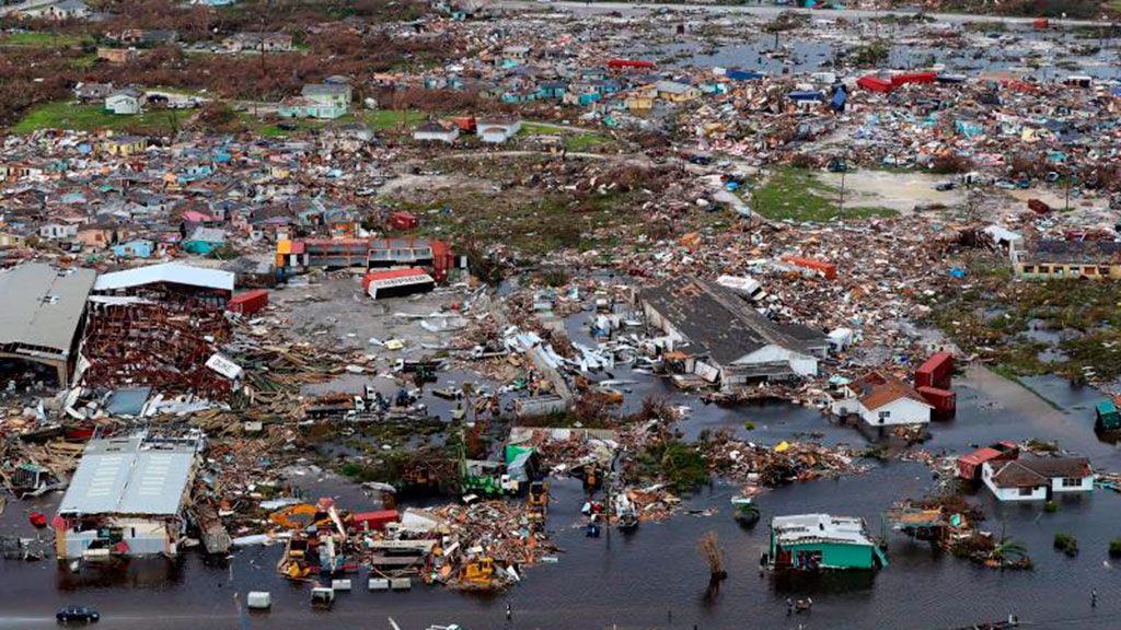 El estancamiento del huracán Dorian