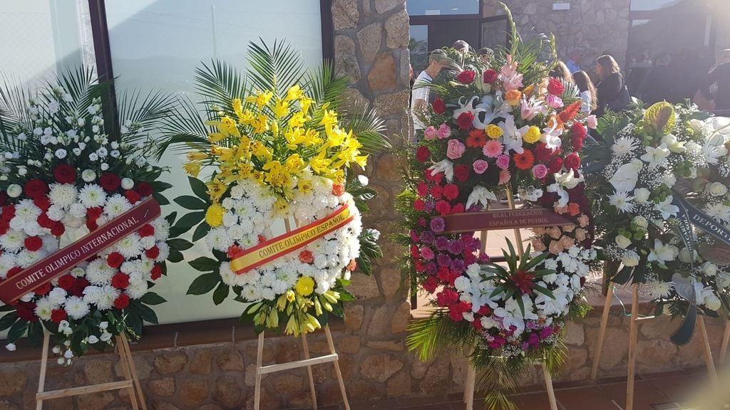 Ramos de flores de entidades deportivas