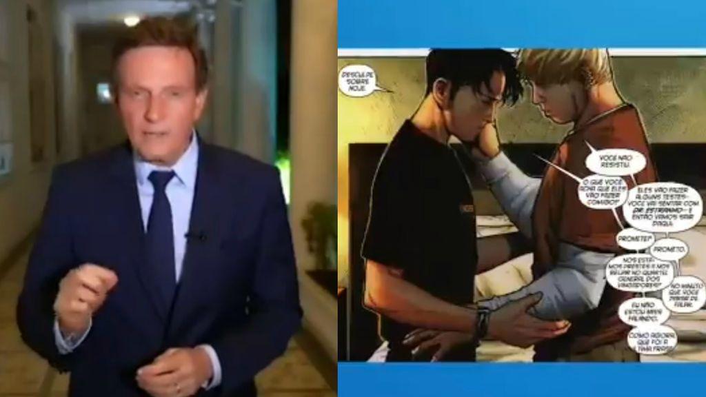 Impiden al alcalde de Río de Janeiro la censura de un cómic en el que salen dos hombres gays besándose