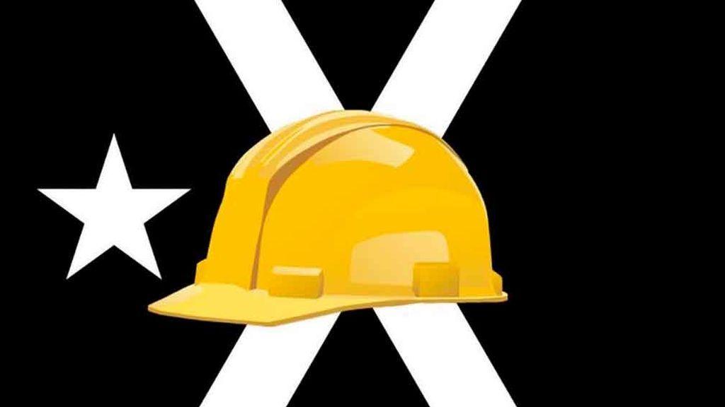 Cascos amarillos y Tsunami Democràtic, nuevos símbolos de la Diada