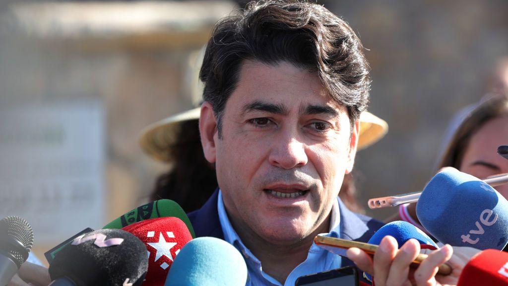 El Consejero de Vivienda y Administración Local de la Comunidad de Madrid, David Pérez
